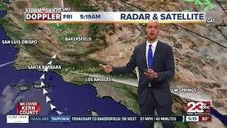 A chance of thunderstorms in store for Kern County! - Video