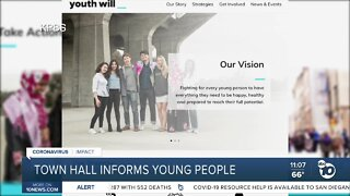 San Diego Youth Will hosts virtual town hall