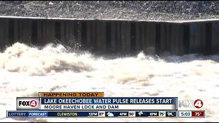 Lake O water releases will resume Friday morning - Video