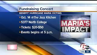 Indianapolis concert to benefit hurricane relief - Video