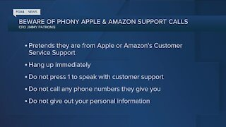 Apple and Amazon scams