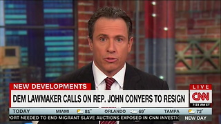 'Enough is Enough': Democratic Rep Argues For Conyers's Resignation - Video