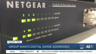 Group wants digital divide addressed
