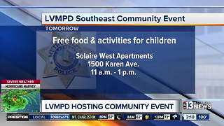 LVMPD Community Event on Aug. 26 - Video