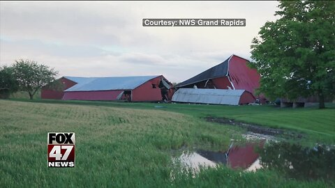 NWS: Tornado touches down in Barry County