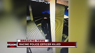 Manhunt underway for suspect who killed off duty Racine Police Officer