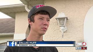 Teen Robbed at Gunpoint Near Home - Video
