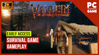 Let's Play Valheim - PC Gameplay Early Access HD