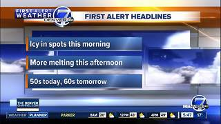 Tuesday morning forecast - Video