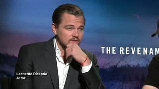 Leonardo DiCaprio praised by 'The Revenant' co stars - Video