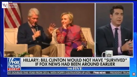 Jesse Watters Only Needs Two Words to Describe Who Hillary Really is