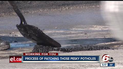 This is why it takes so long to patch potholes