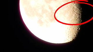 Moon footage captures strange activity on camera
