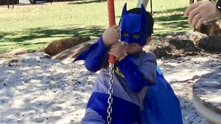 Flying Fox Fail  - Video