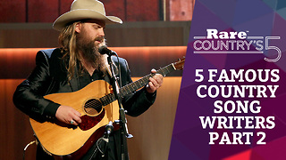 Five Famous Country Songwriters Part 2 | Rare Country's 5 - Video