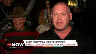 House of Horrors and Haunted Catacombs - Video