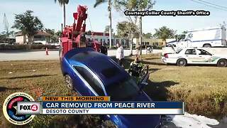 Collier County dive team responds to car in a canal - Video