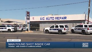 PD: Man dies after being found shot near 43rd Ave and Clarendon