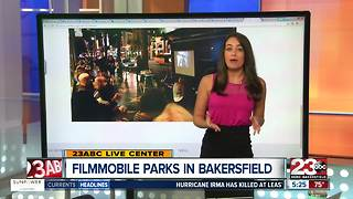 Filmmobile parks in Bakersfield on Thursday for movie under the stars - Video