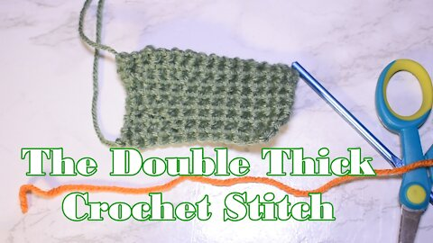 How to Crochet the Thermal Stitch in Single Crochet