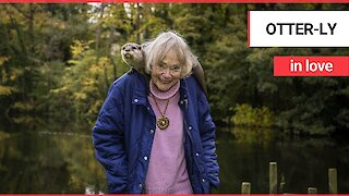 Meet the animal-loving pensioner who has spent her life helping to raise OTTERS