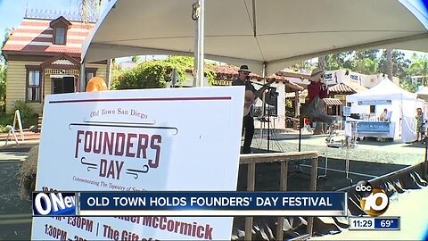 Founders' Day Festival marks 250th anniversary of San Diego