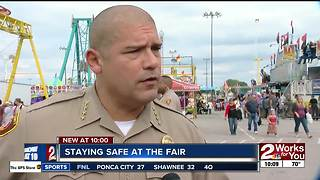 Staying safe at the fair