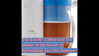 $28 Mr. Coffee Iced Tea Maker Is the Secret to Refreshing Tea All Summer Long