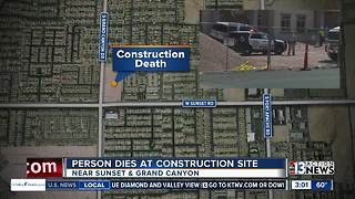 1 person killed during incident at construction site - Video