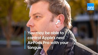 Tongue-Controlled AirPods?