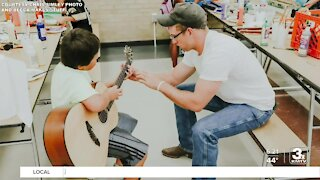 Positively the Heartland: Local organization uses music, art to help youth heal