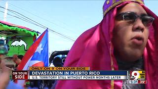Devastation in Puerto Rico - Video