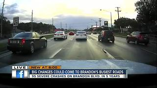 County aims to make Brandon roads safer, easier to travel - Video
