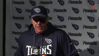 "Titans Coach Thinks Pass Interference Call ""Will Go Down In History"" - Video"