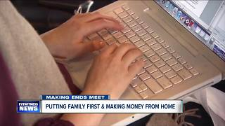 How to put family first and make money from home - Video