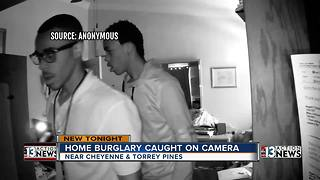 Family: Son nearly walks in on Las Vegas break-in