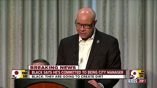 Harry Black says he's committed to remaining city manager - Video