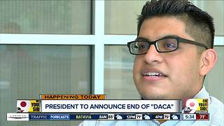 Undocumented immigrant living in Cincinnati fears deportation if Trump ends DACA - Video