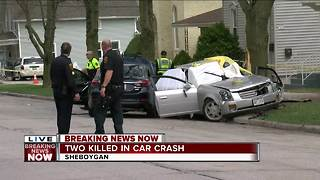 BREAKING: 2 killed, 2 injured in Sheboygan crash - Video