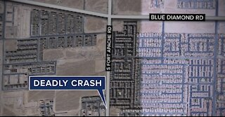 Vegas police investigating deadly crash near Mountain's Edge