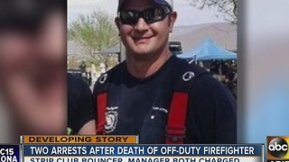 Bouncer accused of attacking, killing Arizona firefighter is MMA fighter - Video