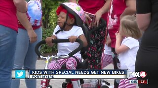 3rd annual bike giveaway for kids with special needs