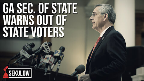 GA Sec. of State Warns Out of State Voters