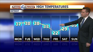 Metro Detroit Forecast: Patchy fog, above-average temps today