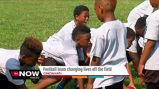 Football team changing lives off the field - Video