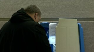 Greenfield sees a steady stream of in-person absentee voters