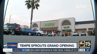 Sprouts opening new location in Tempe! - Video