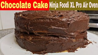 Chocolate Cake, Ninja Foodi Oven | Box Cake Recipe