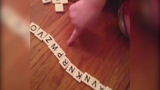 Adorable Little Girl Fails In Spelling Grandma - Video