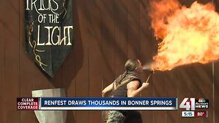 Renaissance Festival takes visitors back in time - Video